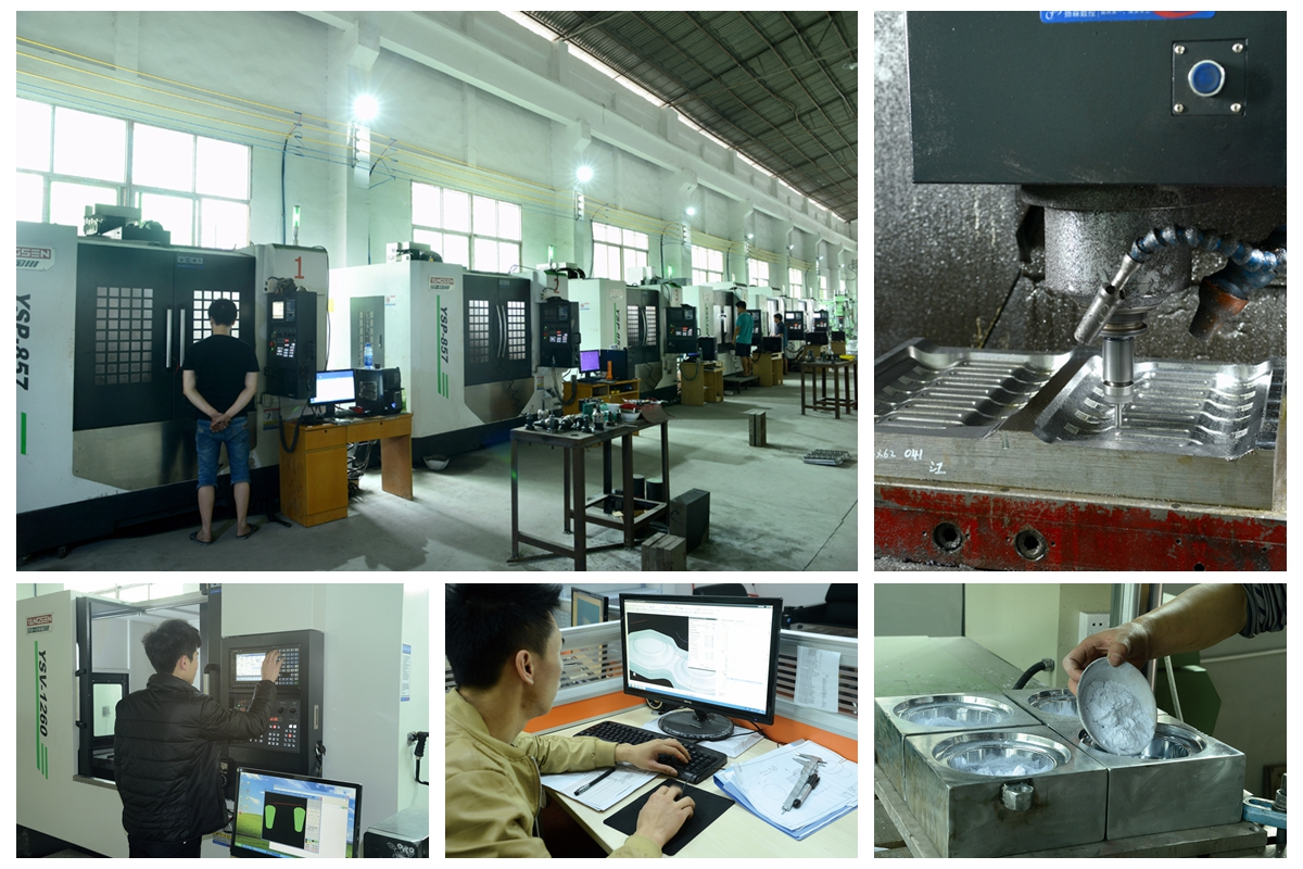 Shunhao molding machines and tableware moulds