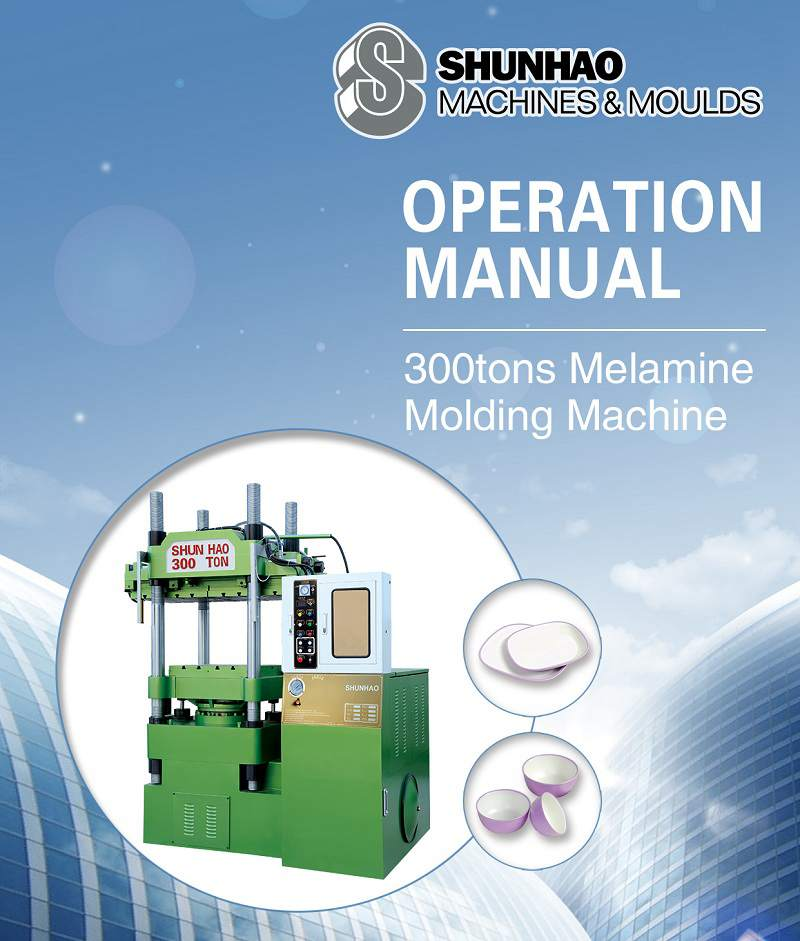 operation manual for melamine tableware machine