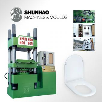 Urea Toilet Seat Lid Press Machine