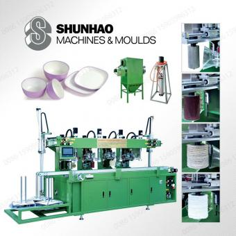 High Efficiency Melamine Tableware Trimming Machine